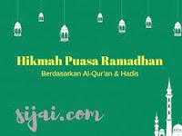 Hikmah dan Keutamaan Puasa Ramadhan Hari 1-10