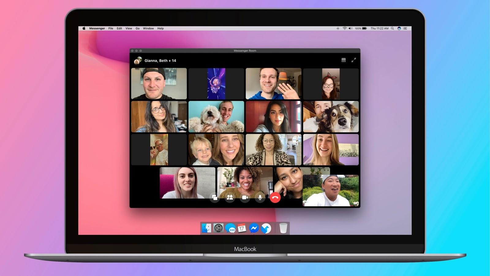 [Video] Messenger Rooms, videochiamate con 50 partecipanti, disponibile per tutti