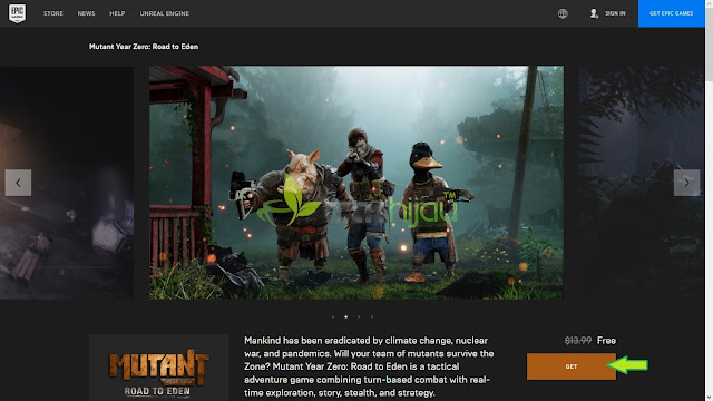 Mutant Year Zero: Road to Eden Halaman giveaway - Tech Hijau™