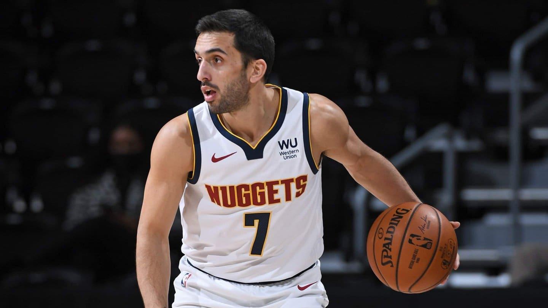 Facu Campazzo con la chance de debutar oficialmente esta noche con Denver Nuggets, en el arranque de la NBA