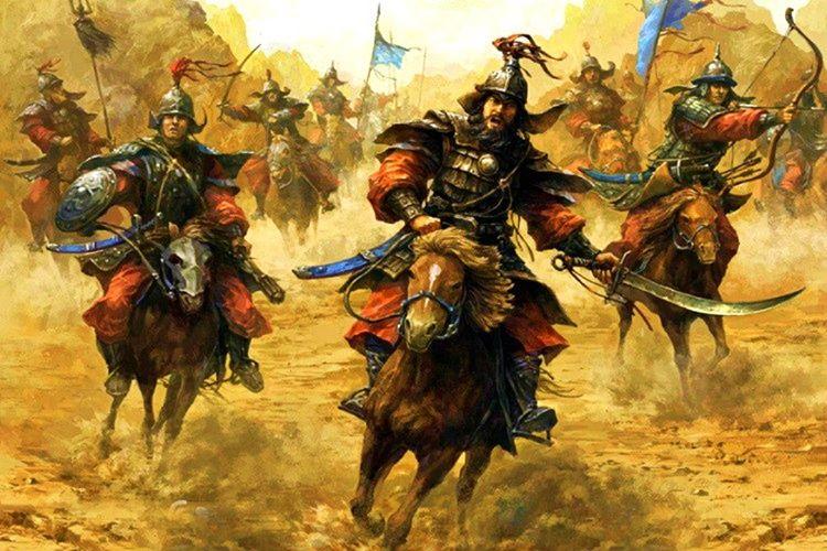 İntikam ateşiyle tutuşan Cengiz Han, Celaleddin Harzemşah'ı Sind ırmağını geçmeye çalışırken yakaladı.