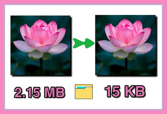Quality ঠিক রেখে HD ছবির MB সাইজ কমিয়ে আনুন ইচ্ছে মতো।