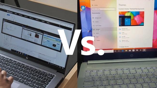 Mi Notebook 14 Horizon vs HP 14s dr1009ttu face-off.