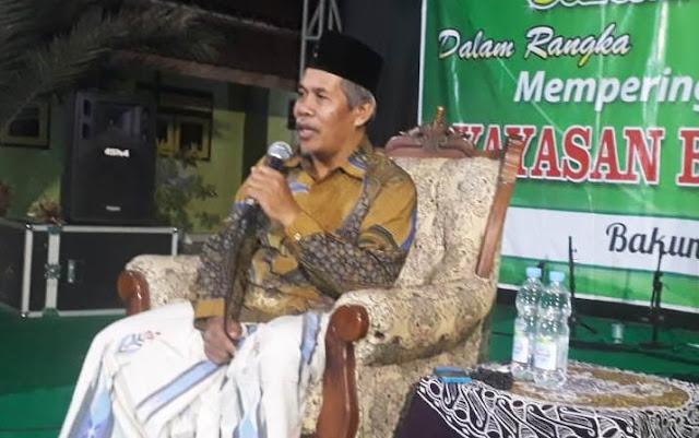 Masuk Tahun Politik, KH Marzuki Mustamar: Warga NU Jangan Mudah Terhasut