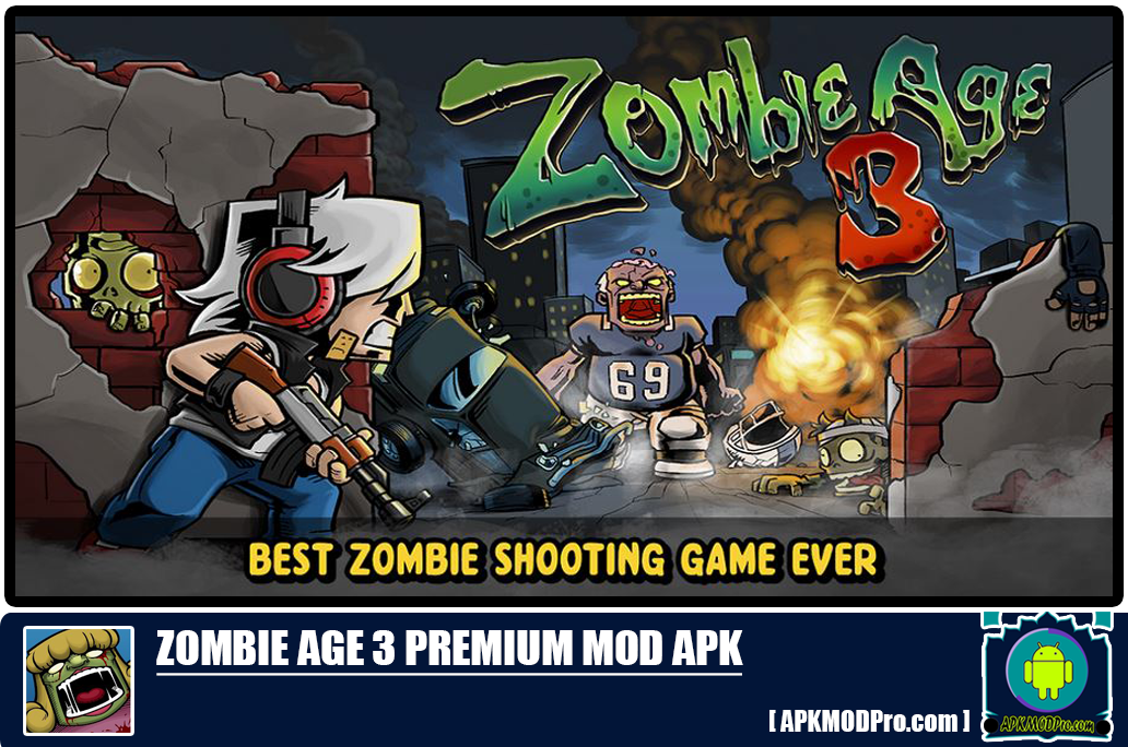 Download Zombie Age 3 Premium MOD APK
