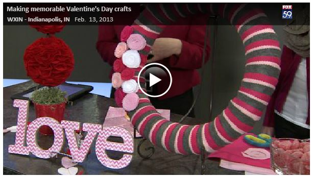 Valentine's Day Craft Ideas {Fox59} 5