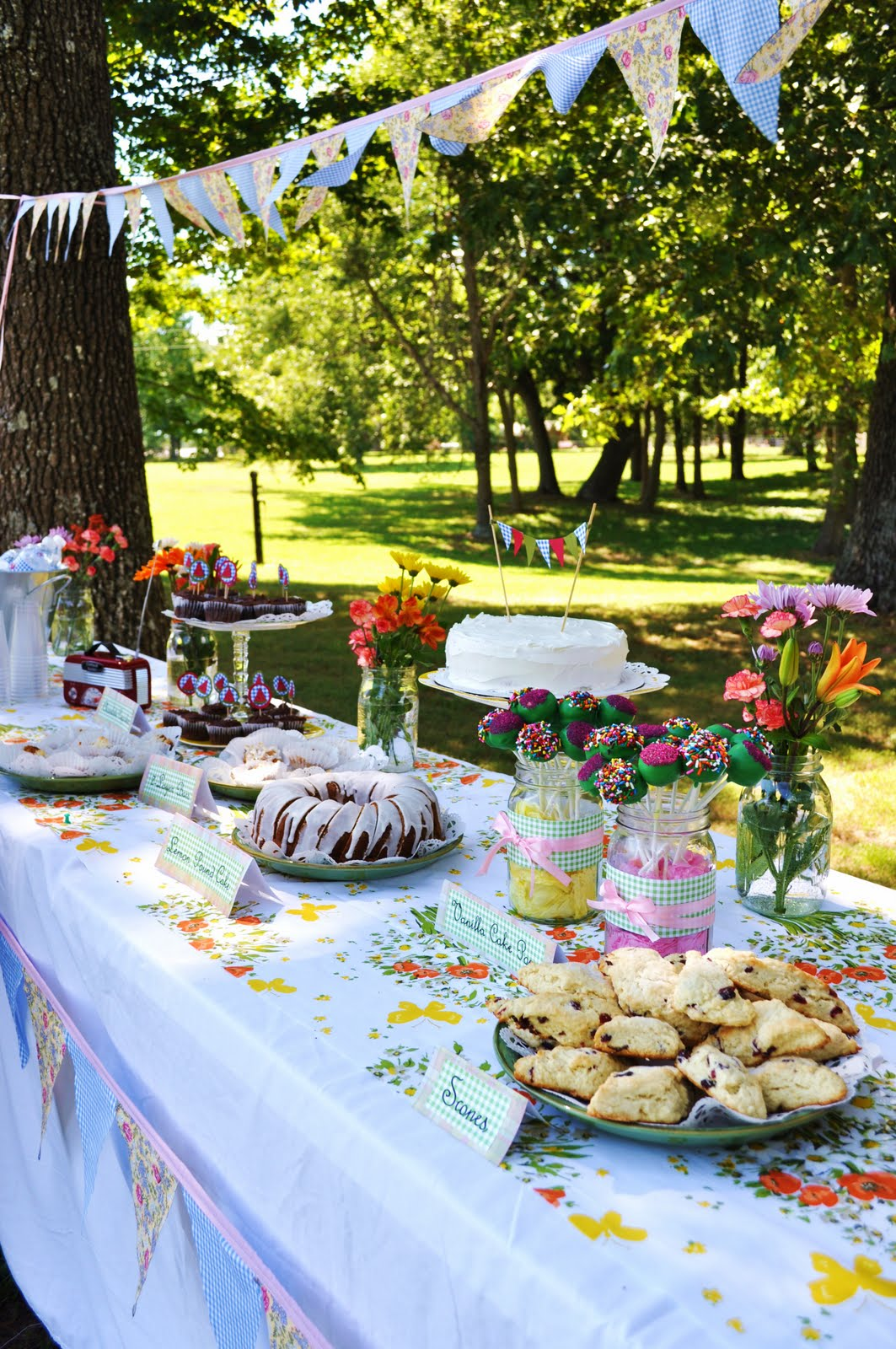 Picnic Themed Decorations Suburbs Mama Picnic Bridal Shower