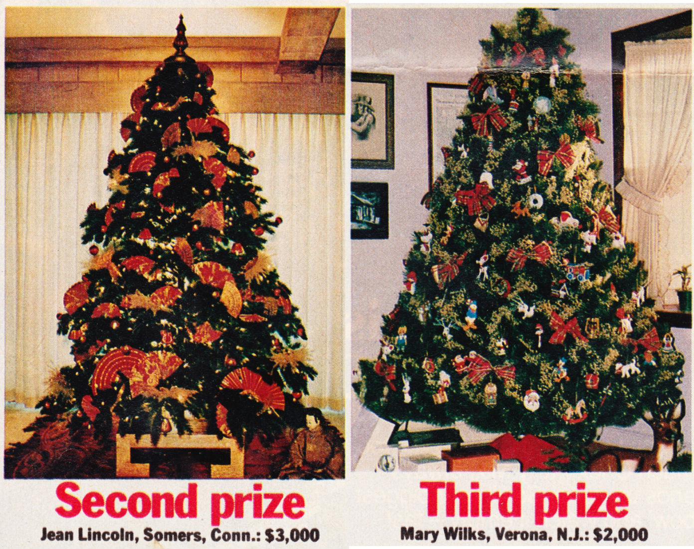"""Papergreat: Family Circle's """"Most Beautiful Christmas Tree"""