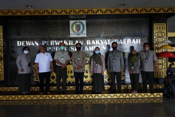 Tingkatkan Sinergitas Pertanian, Ketua DPRD Lampung Terima Audensi BPTP