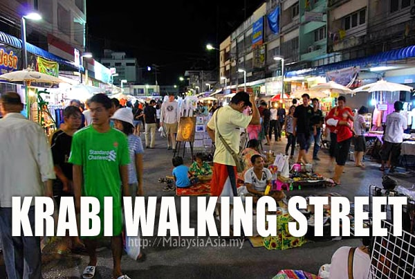 Walking Street Krabi