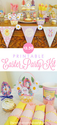 Easter party kit