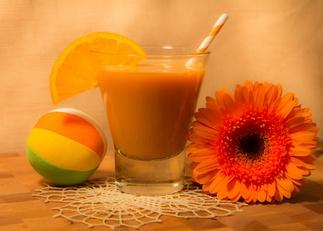 Smoothie de Manzana, pera y naranja