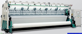 Jasa import mesin Trcot warp knitting machine