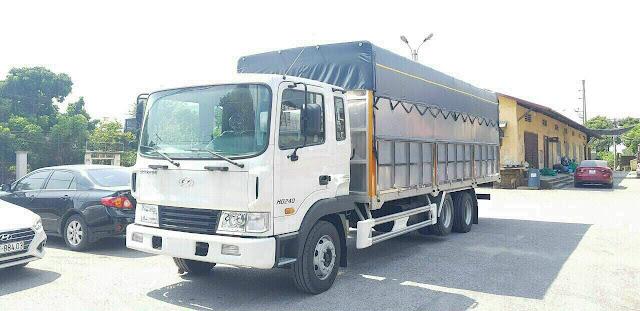 Giá lăn bánh xe 15 tấn Hyundai HD240