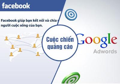Trận chiến quảng cáo không hồi kết giữa Google và Facebook?
