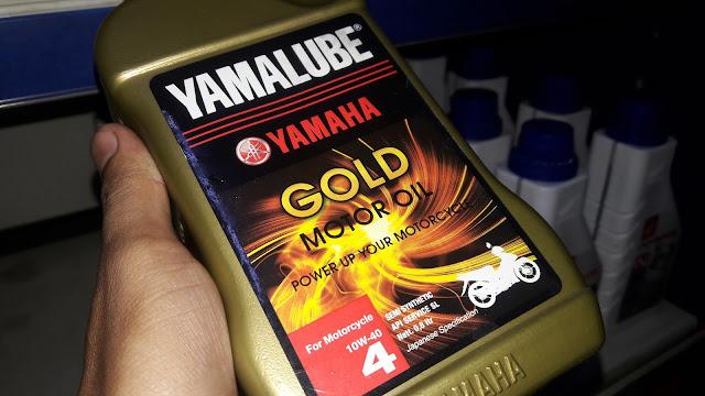 Harga oli Yamalube Gold dan Yamalube matic