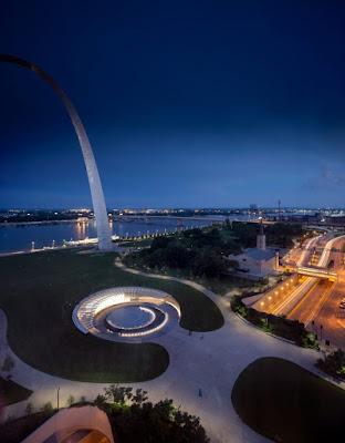 The Gateway Arch - St Louis museum