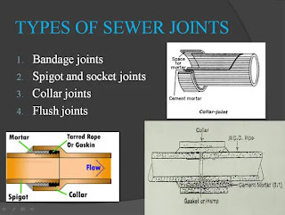 types of sewer joints