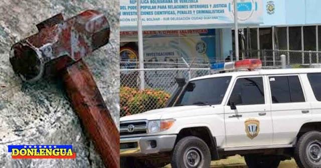 Asesinó a su propia madre a martillazos en el Estado Bolívar