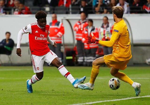 Arsenal Thrashed Eintraht Frankfurt With A 3-0