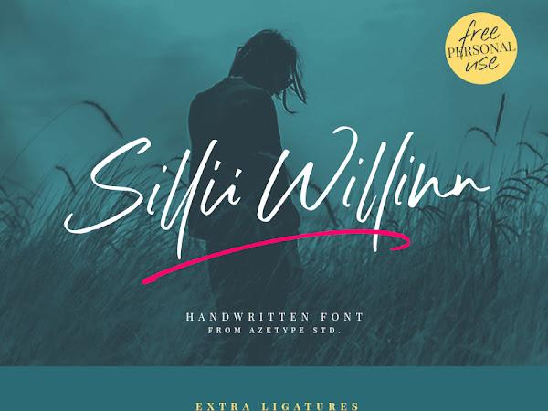 Sillii Willinn Signature Font Free Download