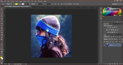cara seleksi gambar di photoshop