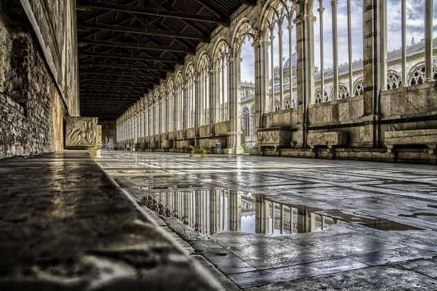 Informações sobre o Composanto Monumentale em Pisa