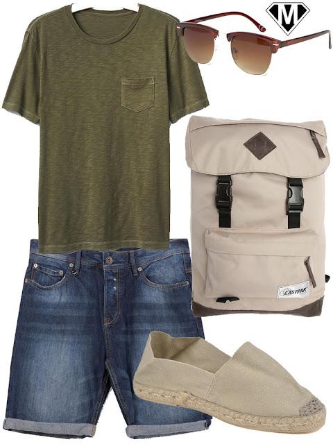 short en jeans homme