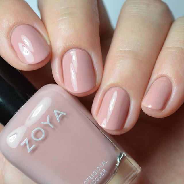 rose creme nail polish