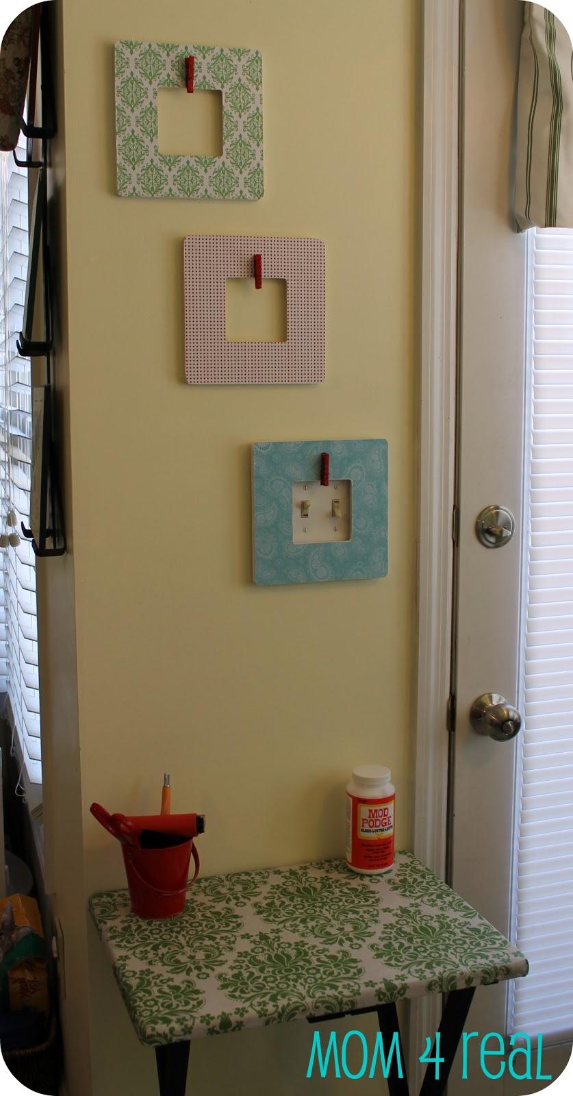 Updated Craft Nook {Spring} - Mom 4 Real