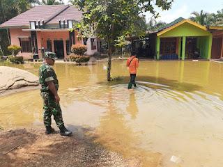 Banjir Rob, Belasan Rumah Warga Kotabaru Tergenang Air