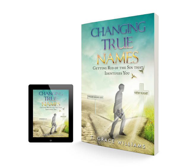 Changing True Names / Book Cover Design