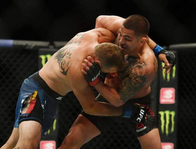 Anthony Pettis wrestles Donald Cerone UFC 249