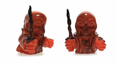 Zagone Studios Exclusive Phantom Starkiller Vinyl MaBa Halloween Marble Edition by Killer Bootlegs x Squibbles Ink