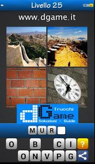 PACCHETTO 2 livello 25 - Soluzioni Trova la Parola - Foto Quiz con Immagini e Parole