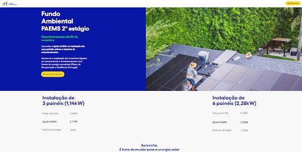 ei energia independente lança a primeira plataforma online para aconselhamento e orientação sobre subsídios para o autoconsumo de energia