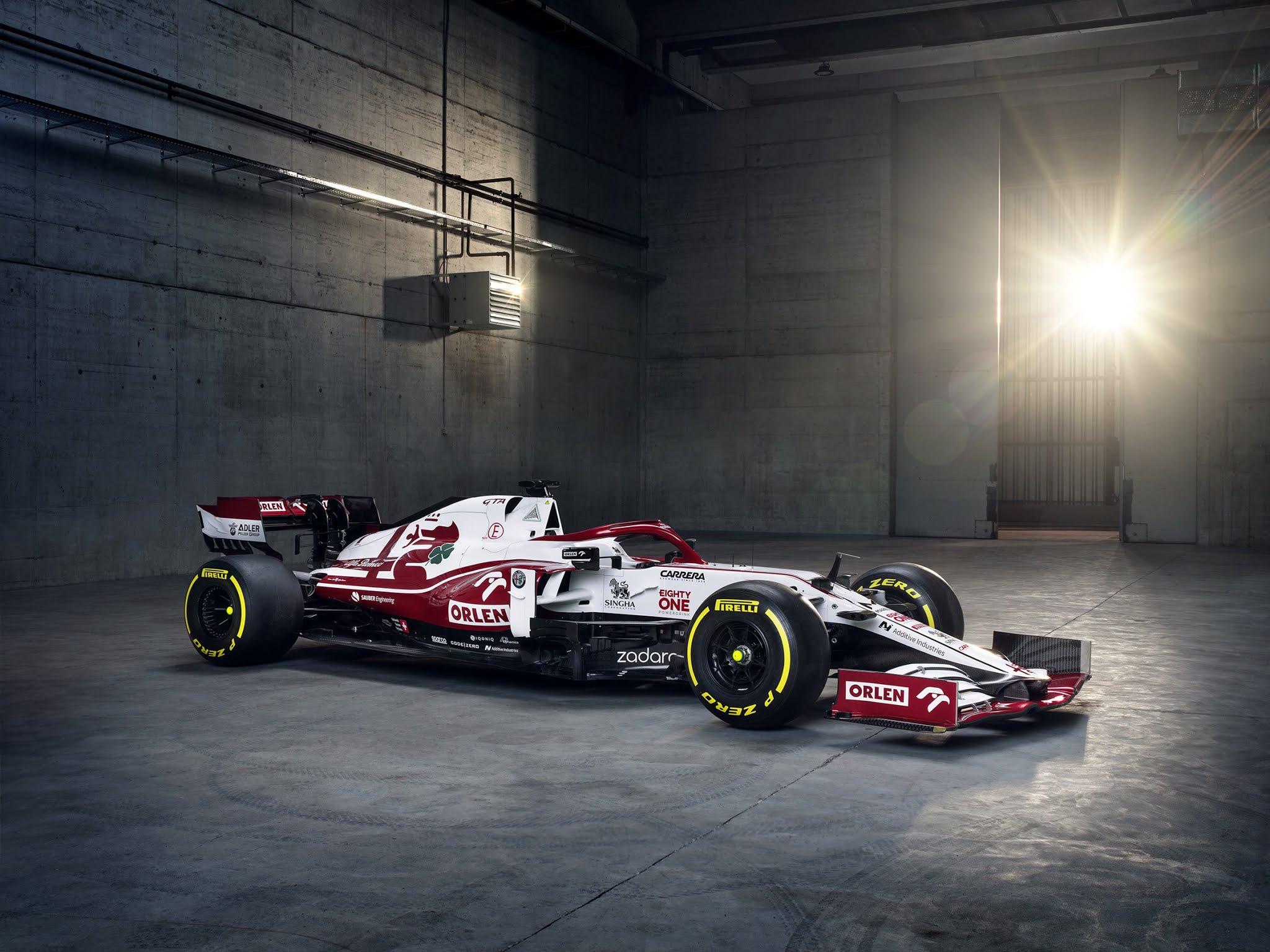 Alfa Romeo Racing ORLEN Formula One Team Unveils the New C41