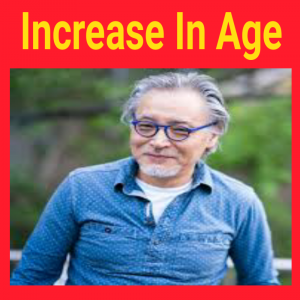 increase in age