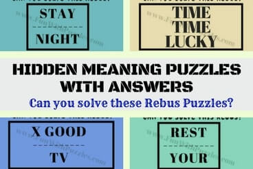 Can you solve these Rebus Puzzles?