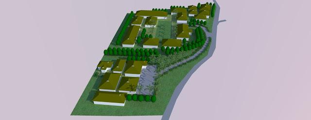 gambar site plan sekolah