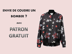 Bettinael Passion Couture Made In France Bomber Patron Couture Gratuit A Imprimer