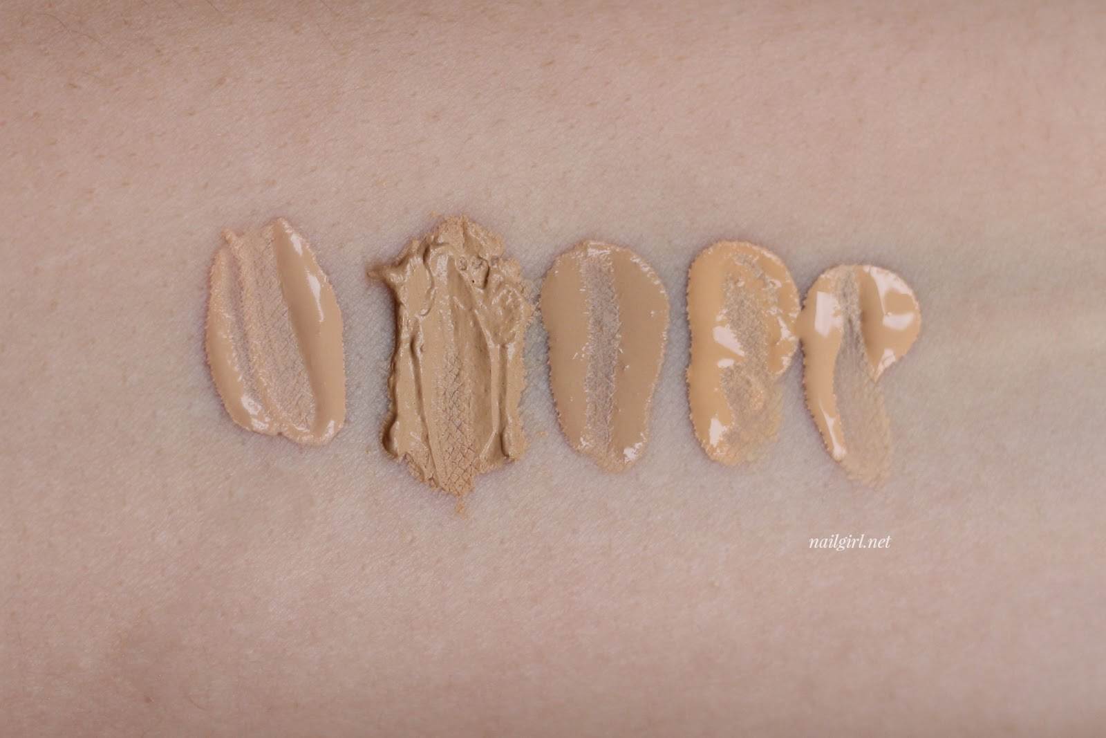 maybelline dream velvet foundation swatch nc25