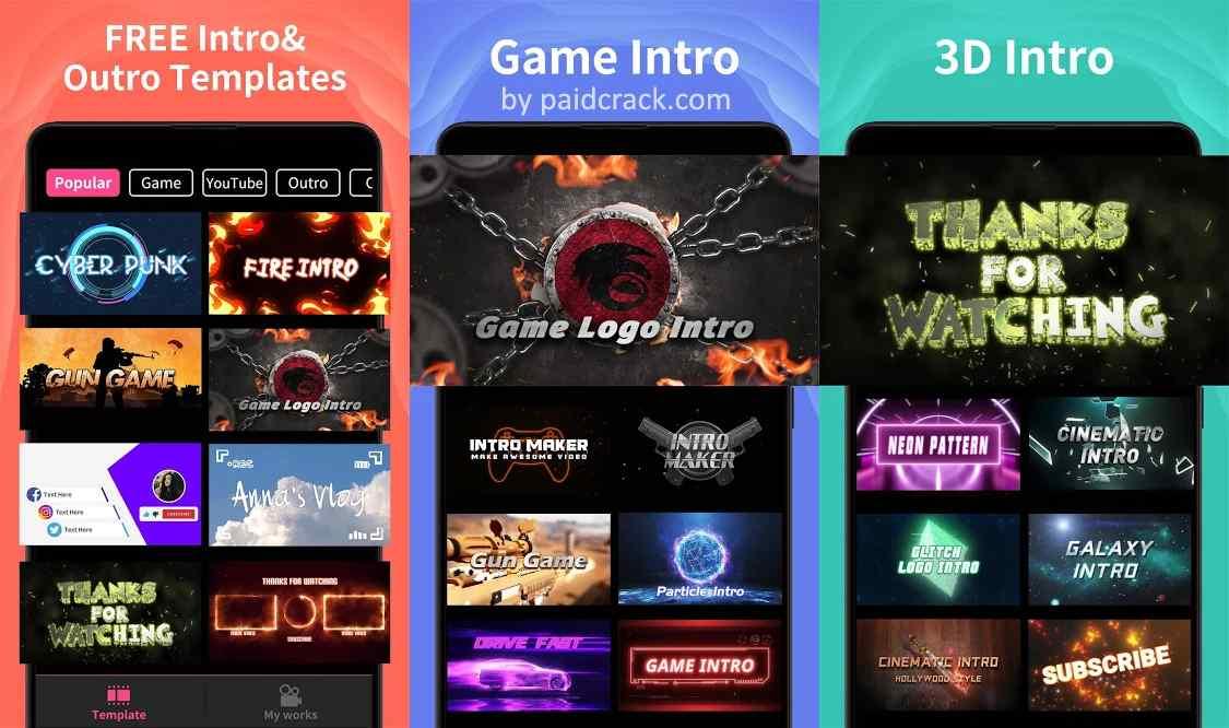 Intro Maker VIP Mod Apk