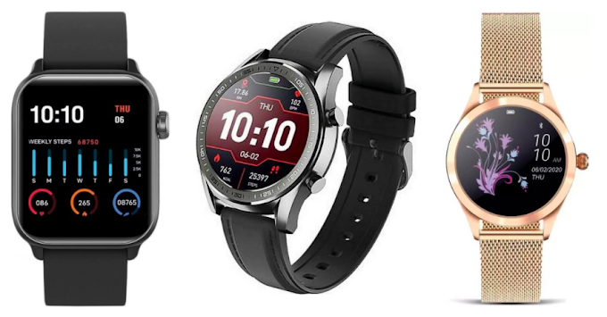 Gionee Launches 3 Smartwatches Watch 5, Watch 4 and Senorita; Starts from INR 2499