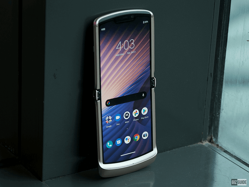 Motorola releases Razr 5G foldable phone in PH, priced at PHP 72,995