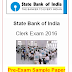 SBI Clerk Pre Exam 2016 Sample Question Paper PDF Download Available