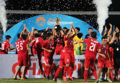 Vietnam berhasil menjadi juara Lawan Thailand