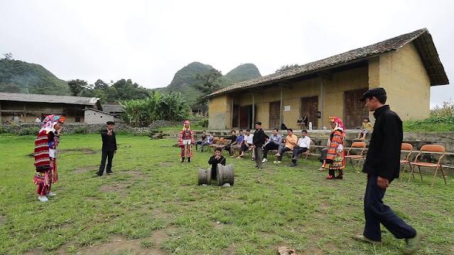 Rain praying ritual of the Lo Lo in Ha Giang 3