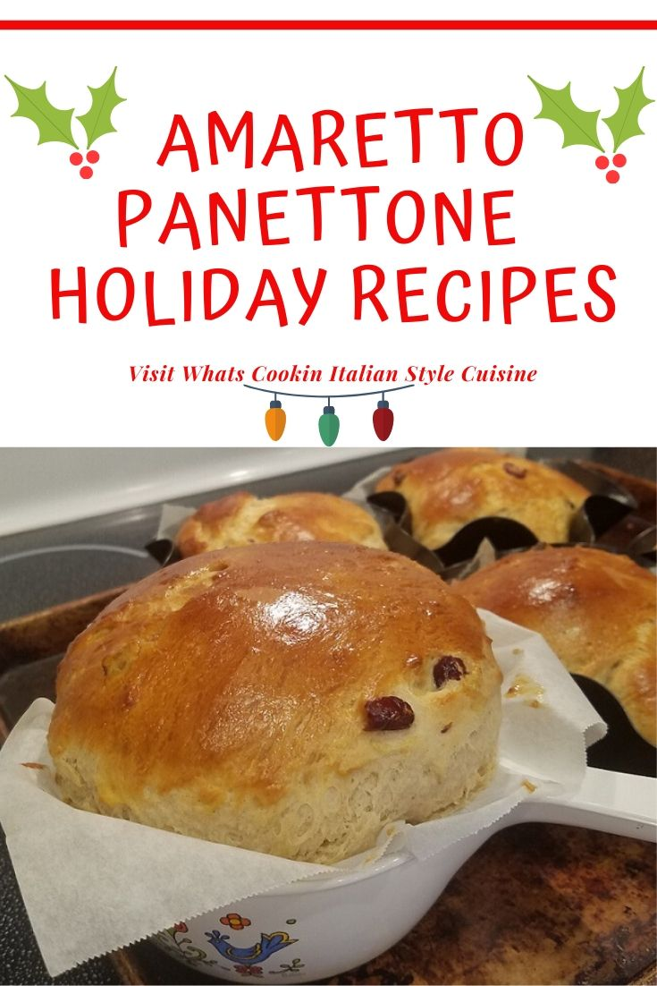 this is a pin for later Holiday Panettone bread