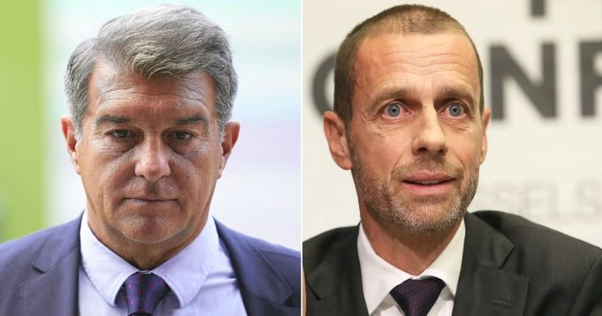 UEFA president launches scathing attack on Super League clubs